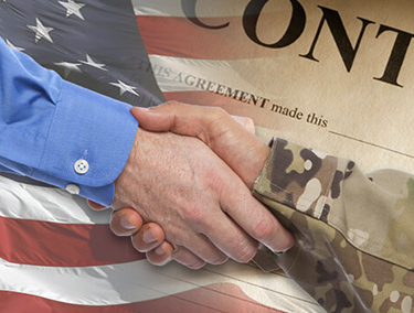 Veteran Entrepreneurs hand shake